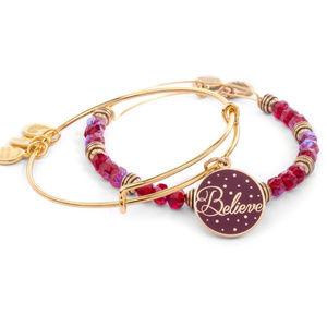 Alex and Ani Believe Bracelet 2016 Holiday Set